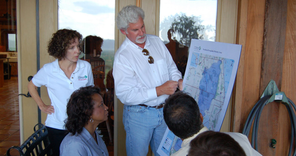 Jennifer  meets with Rafter Ranch to Study the Northern Everglades to help prevent base encroachment