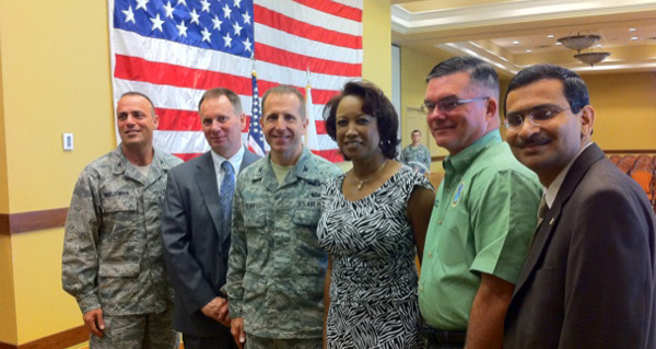 Jennifer announces road expansion to support military base at Hulbert Field